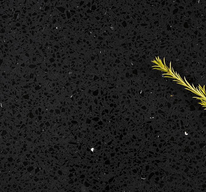 Silver Star Black - Slab Close Image - Builder Range